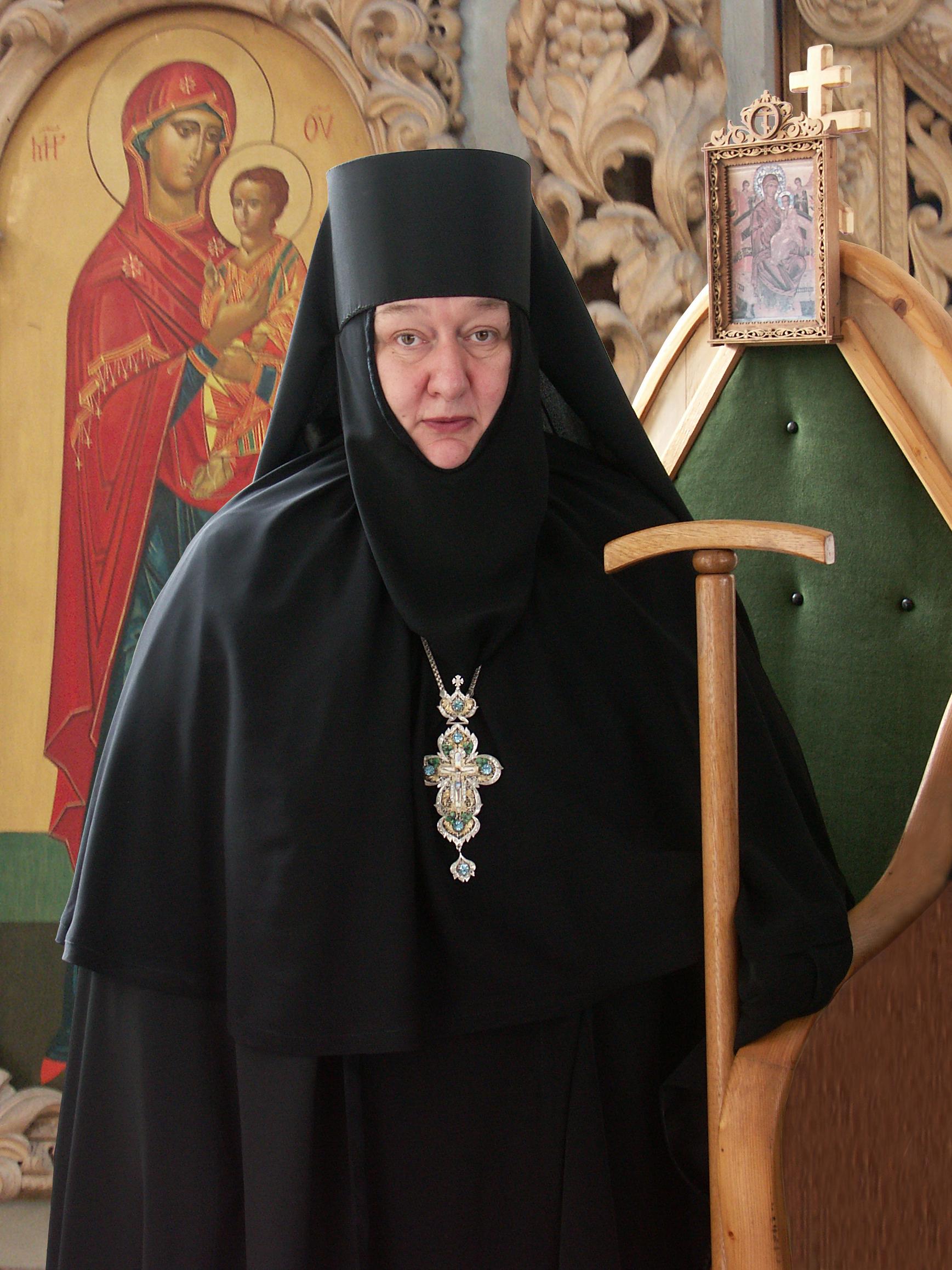 Игумения Николая, настоятельница Свято-Никольского Черноостровского женского монастыря